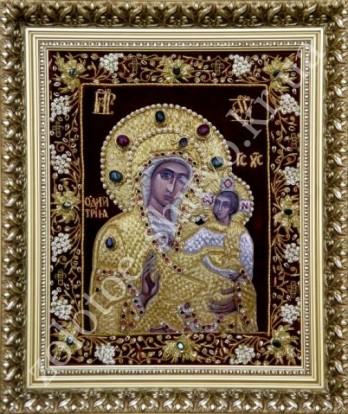 Золотое шитье в иконах